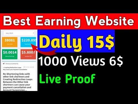 Best Earning Website 2019 | Make Money Online | Earn Online | Easy way to earn | best Earning app