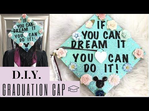 DIY Graduation Cap Decoration!