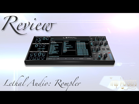 Review VST Rompler Lethal From Lethal Audio | With A Free Demo | King David Trap Monsters