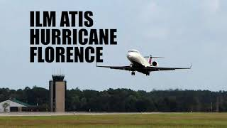 ILM ATIS - Hurricane Florence Affects Aviation !