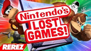 Nintendo's Lost Video Games! - Rerez