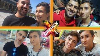 TÜM YOUTUBERLAR !  - GAMEX 2017 VLOGU