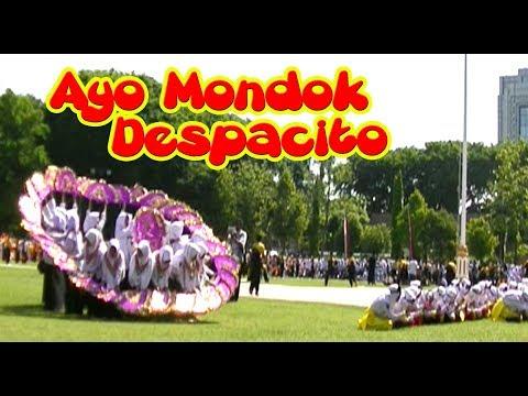 Despacito Ayo Mondok - Persembahan Kolosal Pondok Al-Rosyid Bojonegoro, Hari Santri 22 Oktober 2017