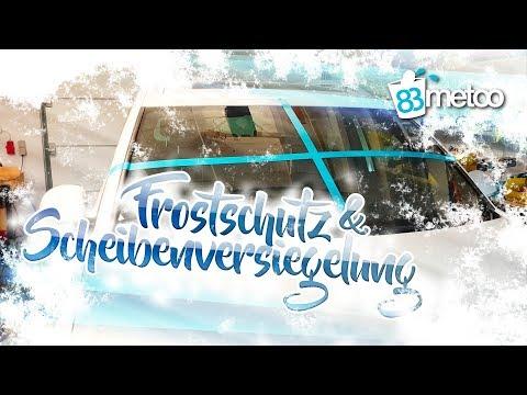 Scheibenfrostschutz Konzentrat das keine Scheibenversiegelung angreift | Auto Frostschutzmittel Test