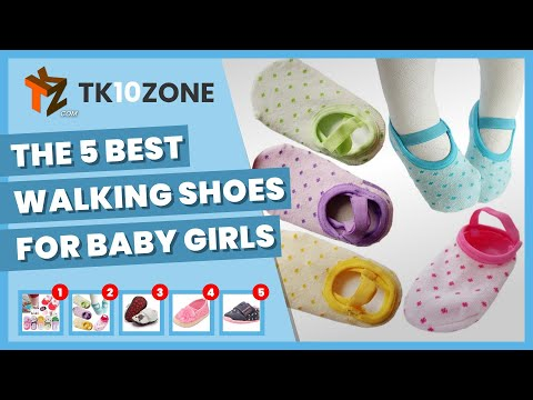 The 5 best walking shoes for baby girls