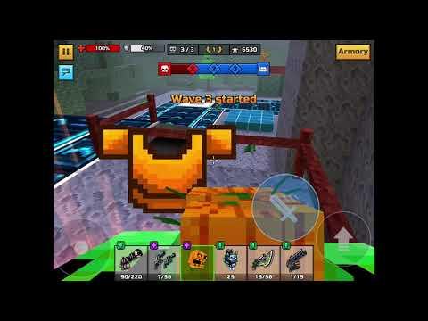 Solo Monster Siege! [huge Boy Returns] | Pixel Gun 3D