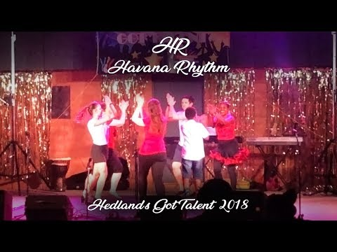 Havana Rhythm Salsa Performance at Hedland's Got Talent 2018