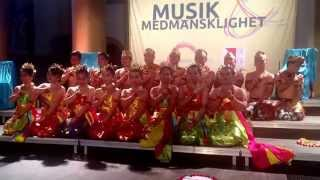 Stockholm - Music & Humanity - Group from Indonesia - Manado state university choir