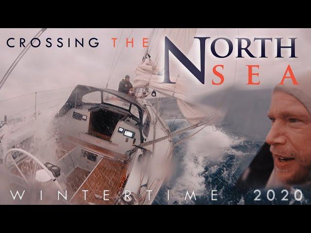 Crossing the North Sea Wintertime- for a Vikingfestival