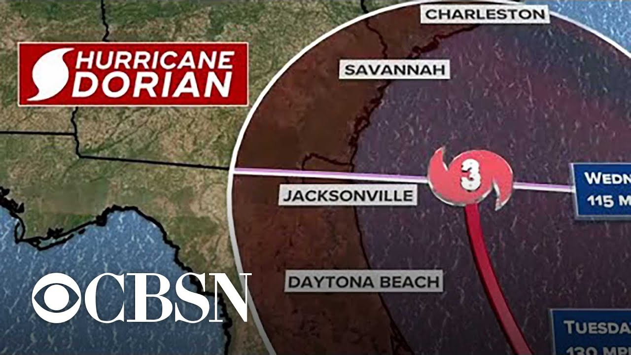 Hurricane Dorian 2019 track update: Tropical storm watch issued for parts of Florida coast