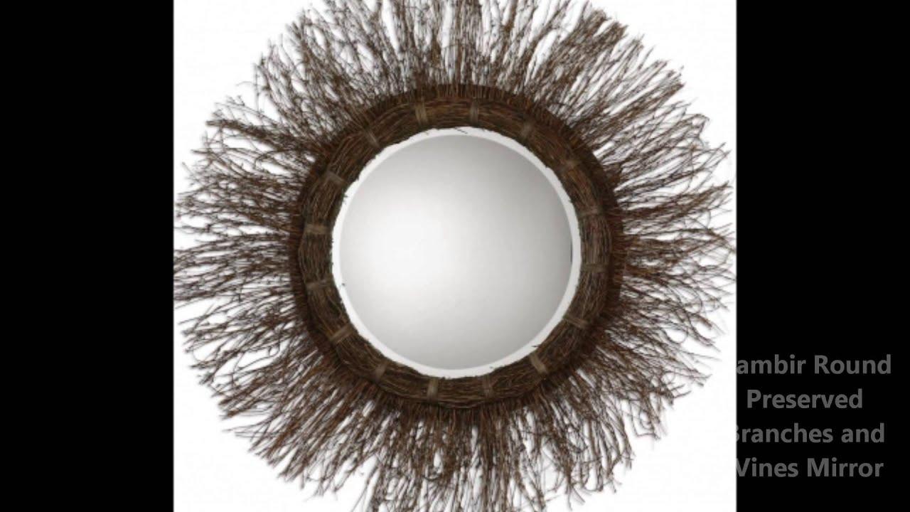 round decorative mirrors - Round Decorative Mirror