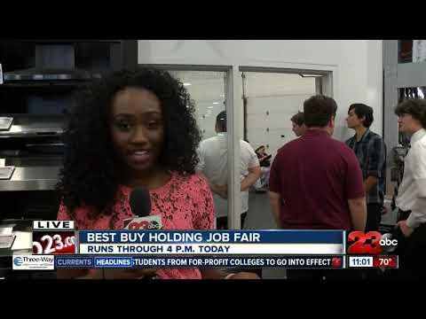 Best Buy Holding Job Fair