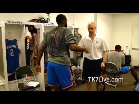 James Harden on TRX at NBA Finals
