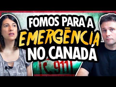 EMERGÊNCIA NO PRONTO-SOCORRO DO CANADÁ - COMO É A SAÚDE PÚBLICA NO CANADÁ