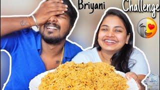 BRIYANI EATING CHALLENGE *I cheated Ram* 🤣