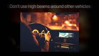 Internet Auto Rent & Sales: Night Driving Tips