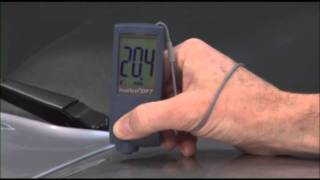 Automotive Paint Inspection featuring the PosiTest DFT by DeFelsko(Automotive Paint Inspection featuring the PosiTest DFT paint meter by DeFelsko as features on Dream Car Garage., 2011-09-15T00:02:05.000Z)