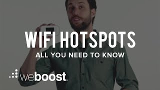 Wifi Hotspots - All You Need To Know | weBoost