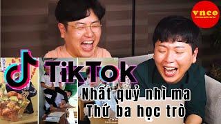 Tik Tok học sinh - Những trò đùa lầy lội nhất quả đất (Cùng VNCO reaction)