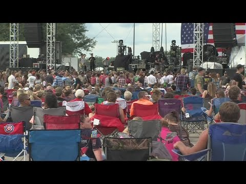 Large crowds visit Terre Haute for Hi-99's Complete Outdoor Off The Tracks Music Jam