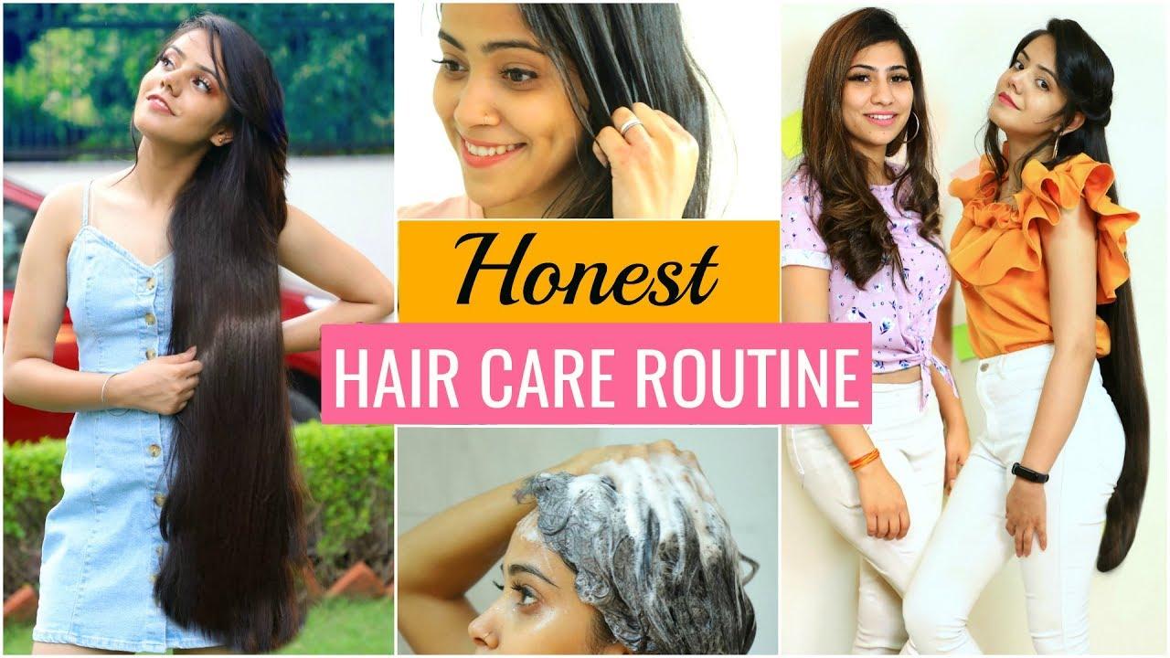 HONEST Hair Care Routine for LONG & SHINY Hair  #Hacks #Fun #Anaysa