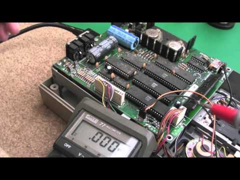 Commodore 1541C Floppy Disk Drive Repair & Cleaning