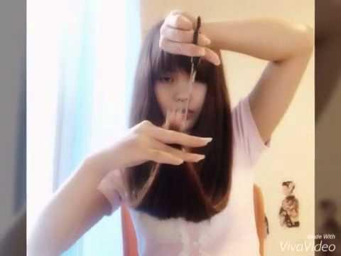Hair Tutorial   cara memotong rambut sendiri - YouTube 4069e6997c