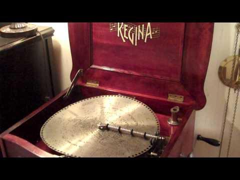 Regina Music Box Reginaphone 15inch disc,