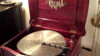 "Regina Music Box Reginaphone 15inch Disc, ""the Nightengale Song"""