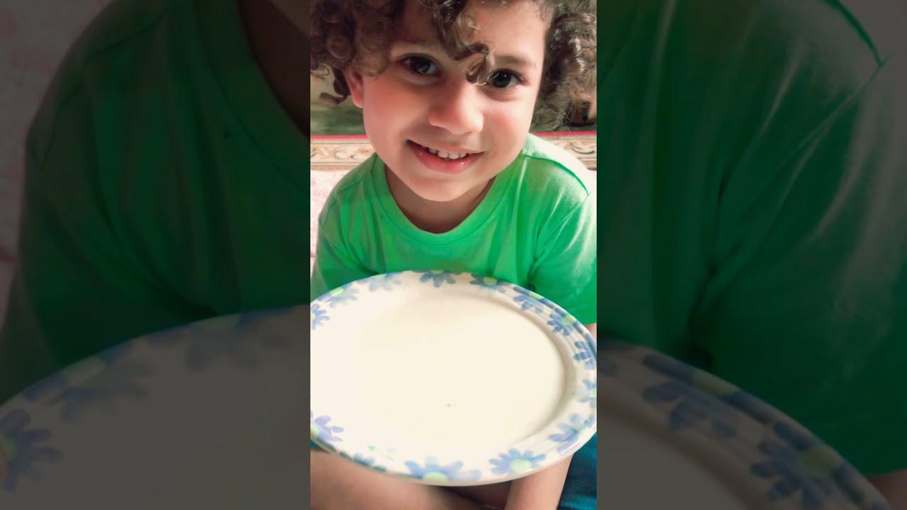 Malaysian Pakistani Kid learning Urdu Language while Eating l Malay To Urdu l TA Shabbir #shorts