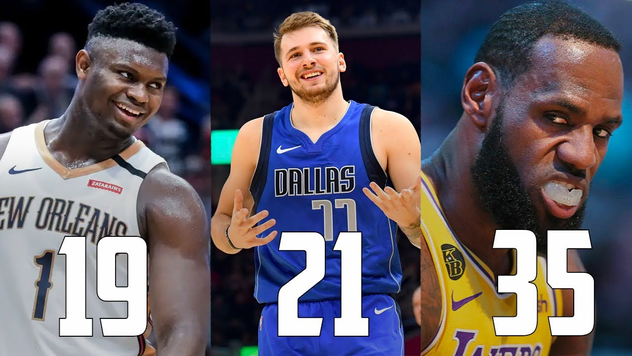 The Best NBA Player At EVERY Age In 2020...