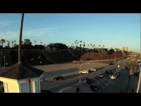 Long Beach Quadcopter Flight