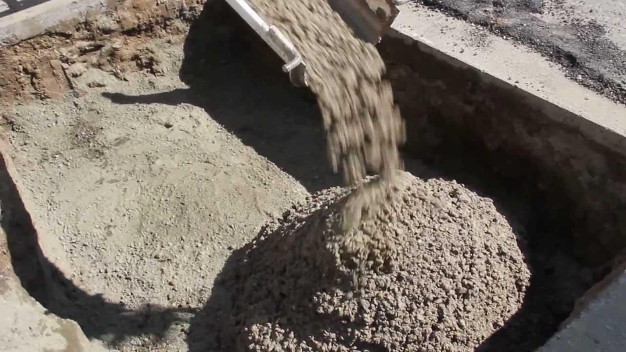 Low Density Fill Concrete : Flowable fill concrete clsm controlled low strength