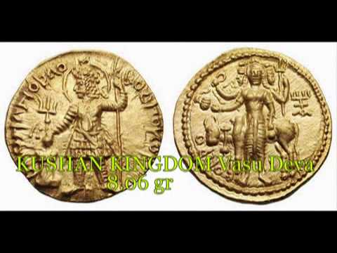 kushan kingdom gold coins