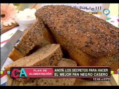 receta para hacer pan de salvado light
