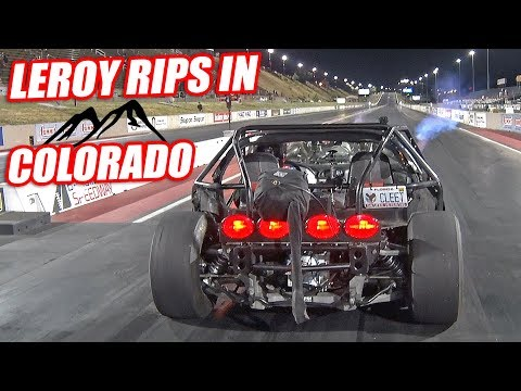 Leroy DOMINATES In Denver's HIGH ALTITUDE Air! (Won the Stick Shift Class)
