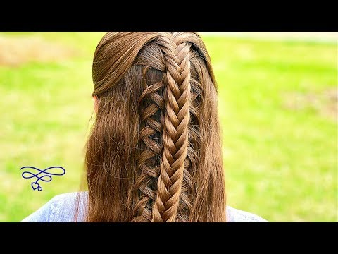 Stacked Fishtail Looped Braid
