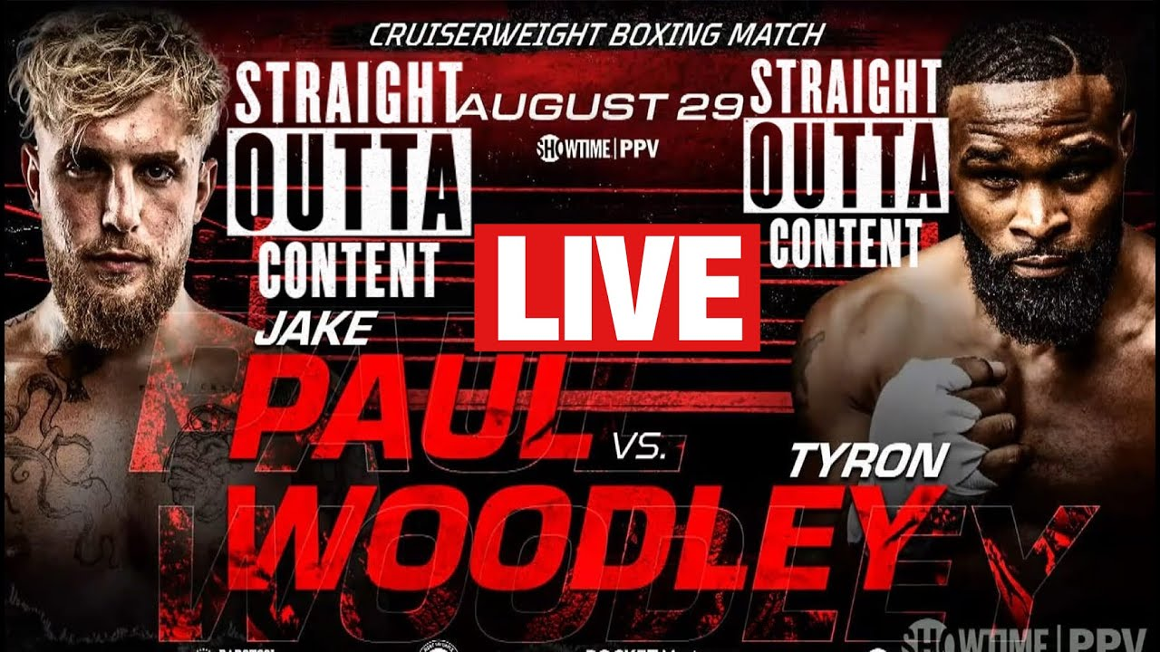 Jake Paul vs. Tyron Woodley fight results: Live updates from ...