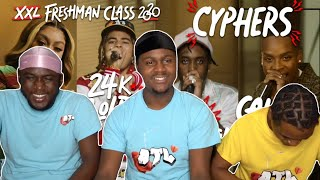 Fivio Foreign, Calboy, 24kGoldn and Mulatto's 2020 XXL Freshman Cypher *REACTION*