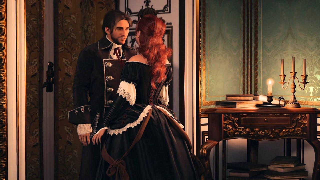 Assassin S Creed Unity Elise Romance Youtube