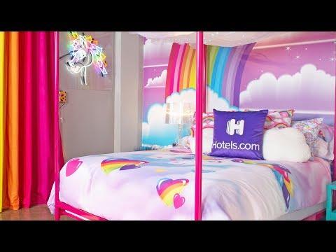 Amanda Jo - Lisa Frank Hotel Room - October Only!