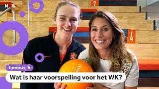Vivianne Miedema over Feyenoord, hoog houden en het WK