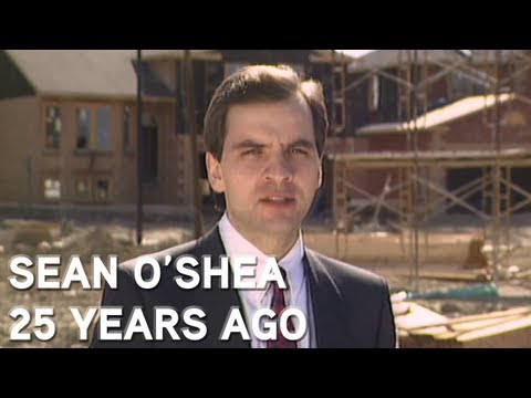 Sean O'Shea's first story for Global News
