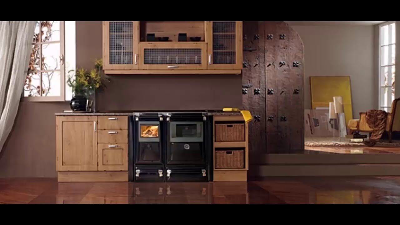 Ideas de cocinas con chimenea de le a dise os y decoraci n - Decoracion para chimeneas de lena ...