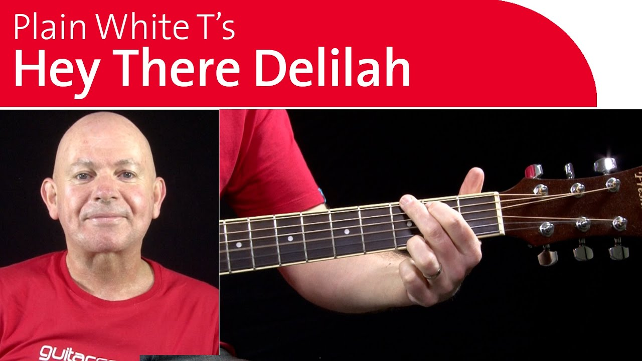 Hey There Delilah Guitar Chords Lesson 3 Of 4 Youtube