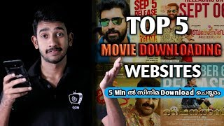 Top 5 Movie Downloading Websites | Gadgets one malayalam | Tricky Malayali | Easy download movies