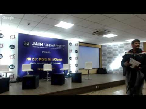 Jain University Presents HR 2.0: Moves for a Change (Panel Discussions)