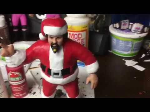 WWF LJN Captain Lou Albano to Santa Claus