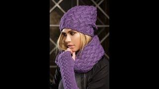 Шапки, Связанные Спицами, для Женщин - 2019 / Knitting Hats for Women