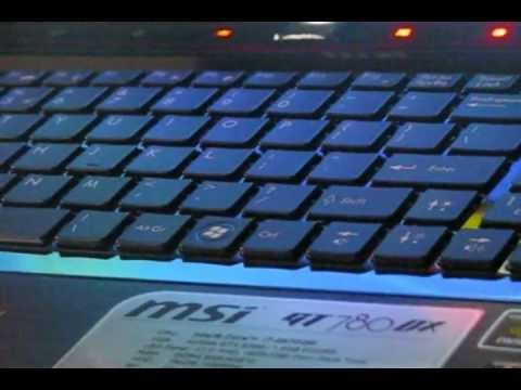 MSI GT780DX NOTEBOOK BACKLIGHT KEYBOARD LED DRIVERS FOR WINDOWS 10